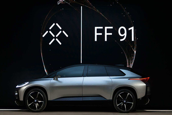 автомобиль Faraday Future FF91