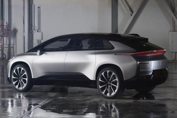 автомобиль Faraday Future ff 91