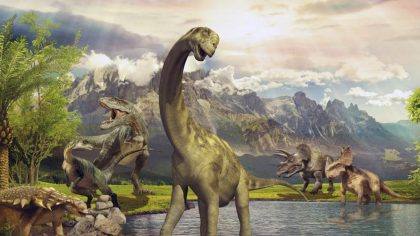 Динозавры — энциклопедия в дополненной реальности