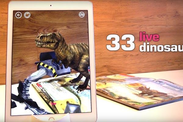 динозавры 4d энциклопедия в дополненной реальности