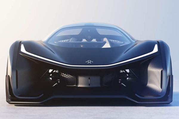 Faraday Future первый автомобиль FFZERO1