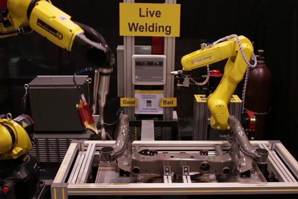 роботы Fanuc для дуговой сварки