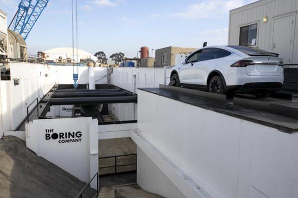 строительство проекта тоннеля Boring Company