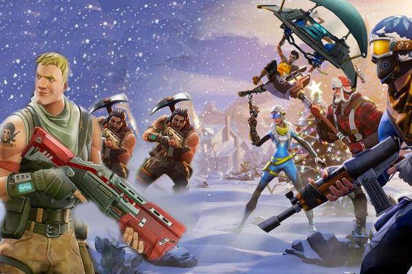 топ популярных онлайн игр - Fortnite Battle Royale