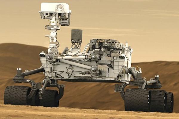 управление роботом в космосе