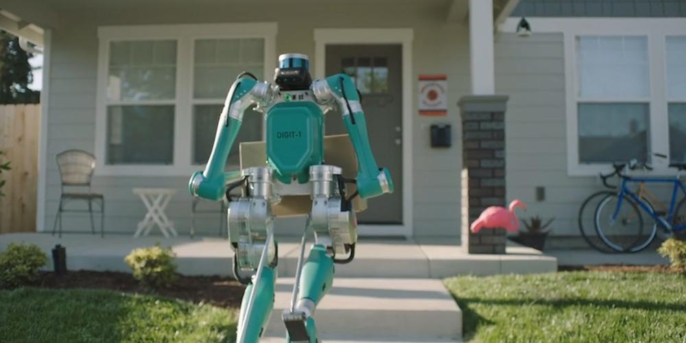 Двуногие роботы Agility Robotics автоматизируют курьерскую доставку