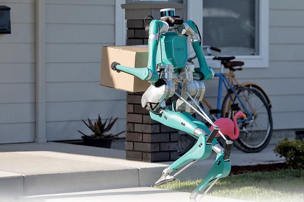 Digit робот курьер