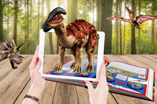 динозавры iDinosaur - - детская энциклопедия с дополненной реальностью