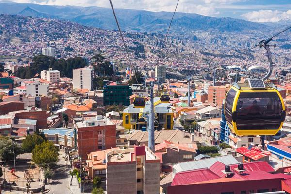 Эль Альто, Боливия - урбанизация города
