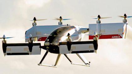 Летающее беспилотное такси Vahana Alpha One