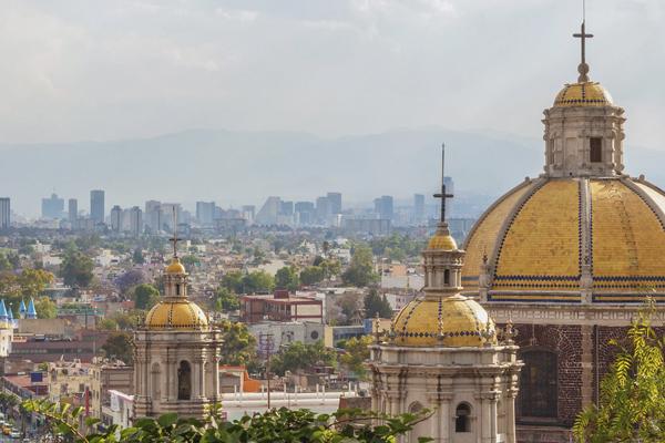 Мехико, Мексика - урбанизация в крупном городе