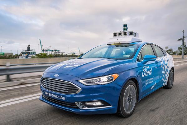 анализ продаж беспилотных автомобилей
