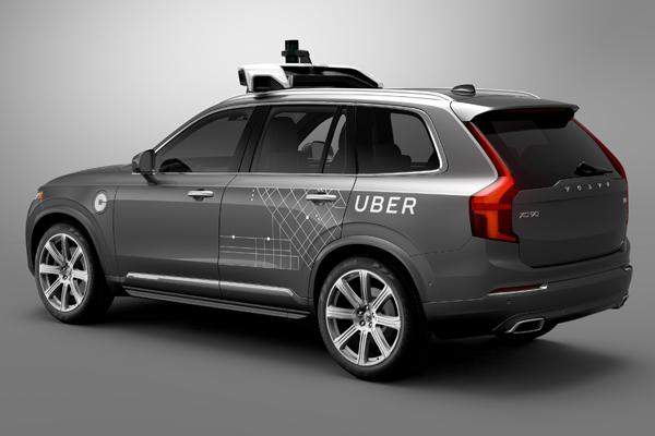 беспилотное такси от Uber и Lyft