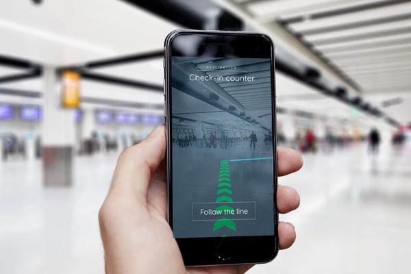 дополненной реальность в GPS-навигации