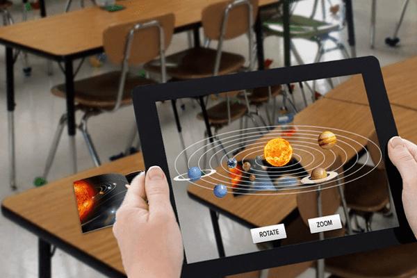 использование дополненное реальности в образование