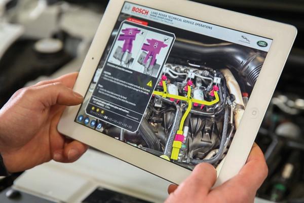 использование дополненное реальности в ремонт автомобилей