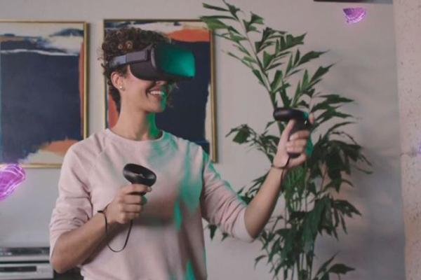 как работает шлем Oculus Quest