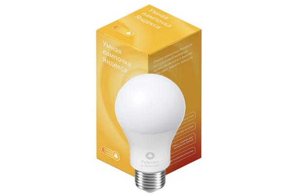 умная лампочка Яндекс для умного дома