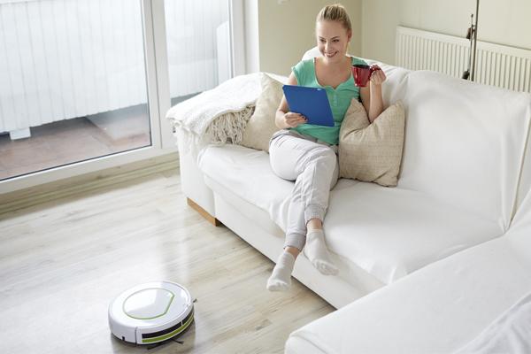 умный робот-пылесос - время работы