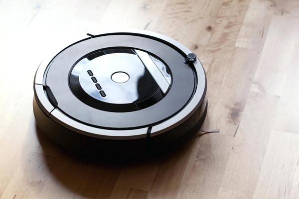время работы робота пылесоса в комнате