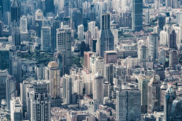 высокая урбанизация крупных городов