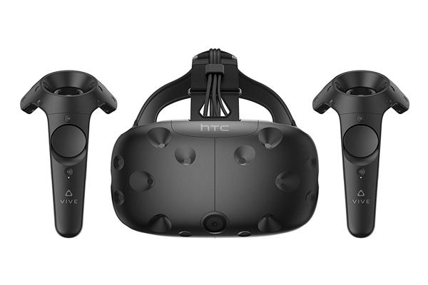 HTC Vive - VR очки с двумя пультами