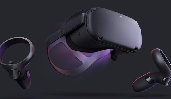 Очки виртуальной реальности с двумя пультами - Oculus Rift