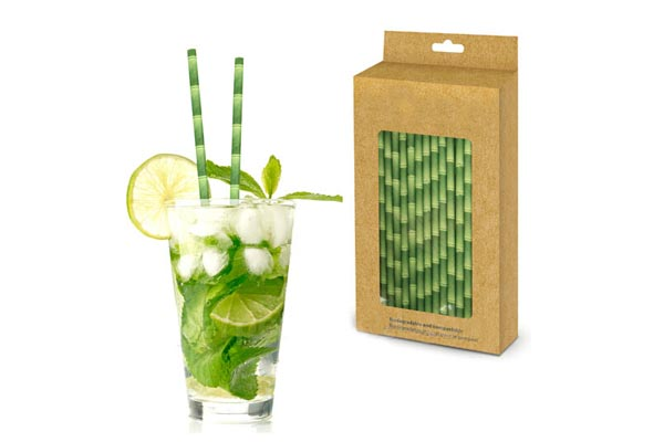 бамбуковые трубочки для напитков