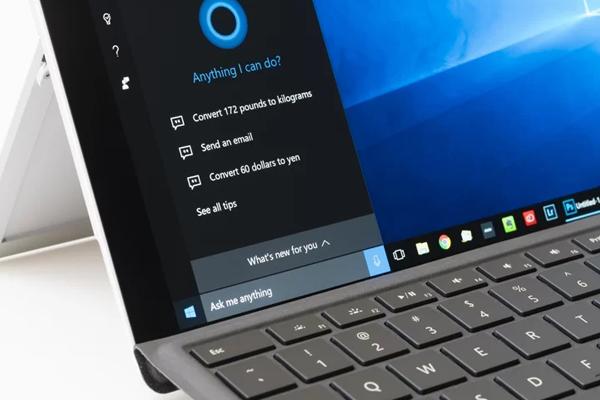 голосовой помощник Cortana для Windows
