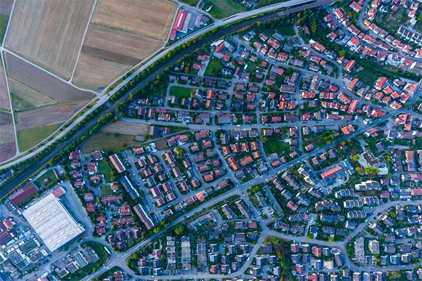 пригород урбанизация