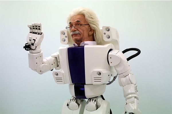 робот Albert Hubo