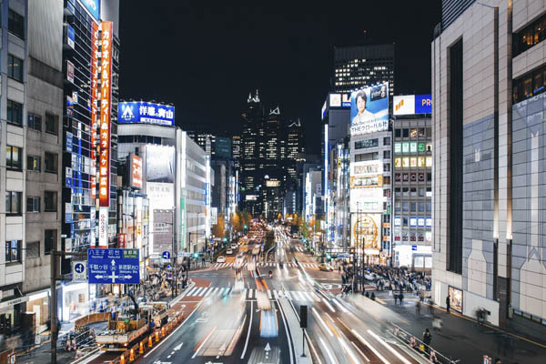 технологически развитые страны - Япония