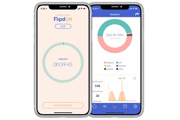 Flipd - digital detox приложения