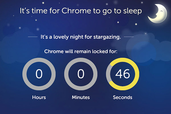 Goodnight Chrome - digital detox приложения