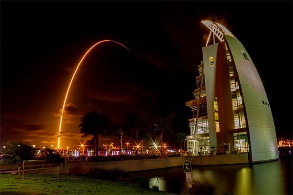 spaceX запуск