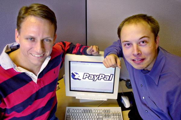 Компания Илона Маска - Paypal