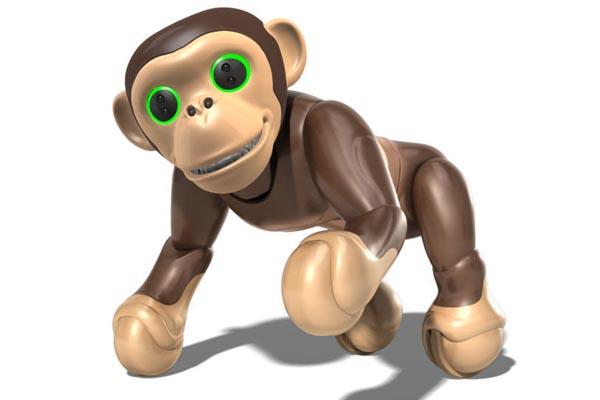 робот питомец Zoomer Robot Chimp