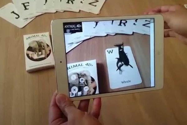 Animal 4D+ - образовательная игра в дополненной реальности