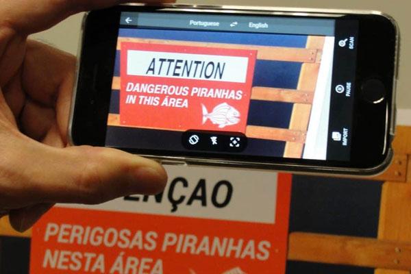 Google Translate в дополненной реальности