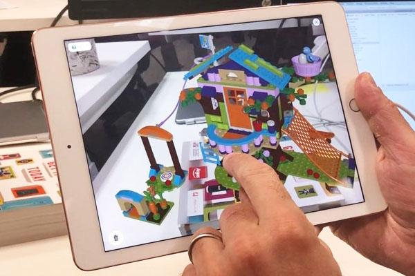 Игры для обучения в дополненной реальности - Lego 3D