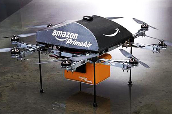 грузовой дрон Amazon PrimeAir