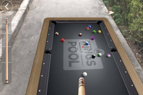 Kings of Pool - игра в дополненной реальности на android