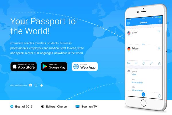 голосовой переводчик iTranslate для андроид без интернета