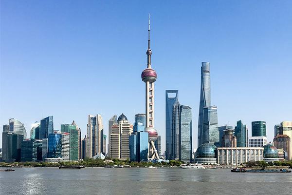 финансовый центр Шанхай