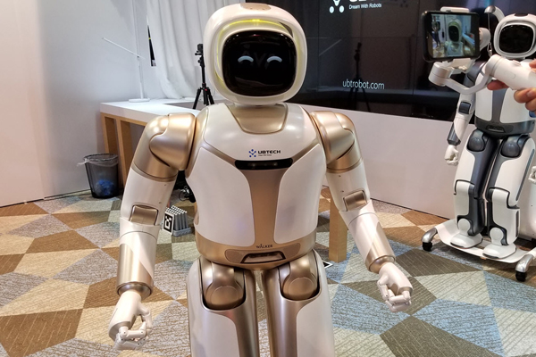 робот дворецкий Walker