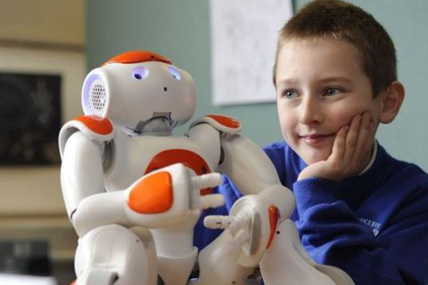 робот учитель Элиас