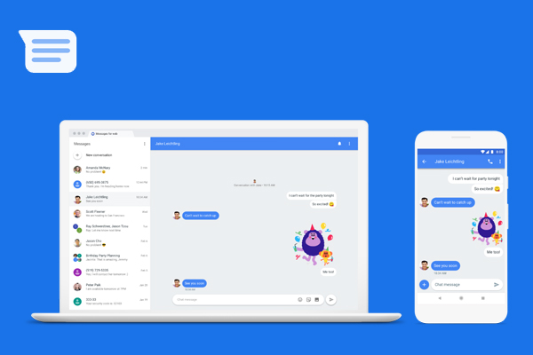 Google Messages - офисный чат