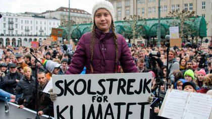 Грета Тунберг – девочка, которая борется за экологию