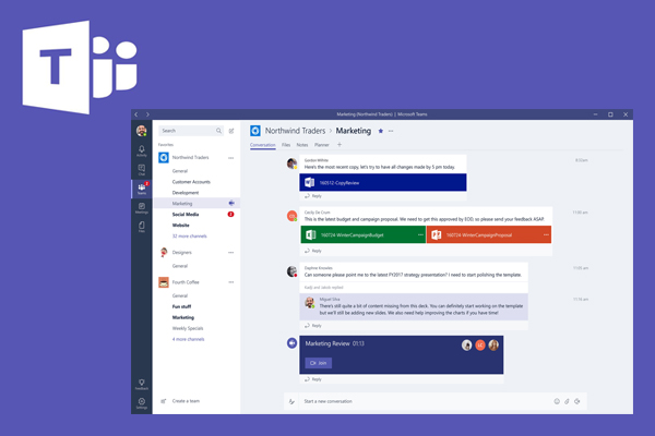 Microsoft Teams - корпоративный мессенджер для команды