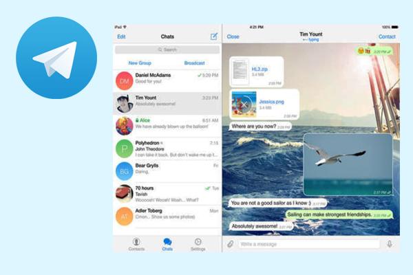 Telegram - мессенджер для бизнеса
